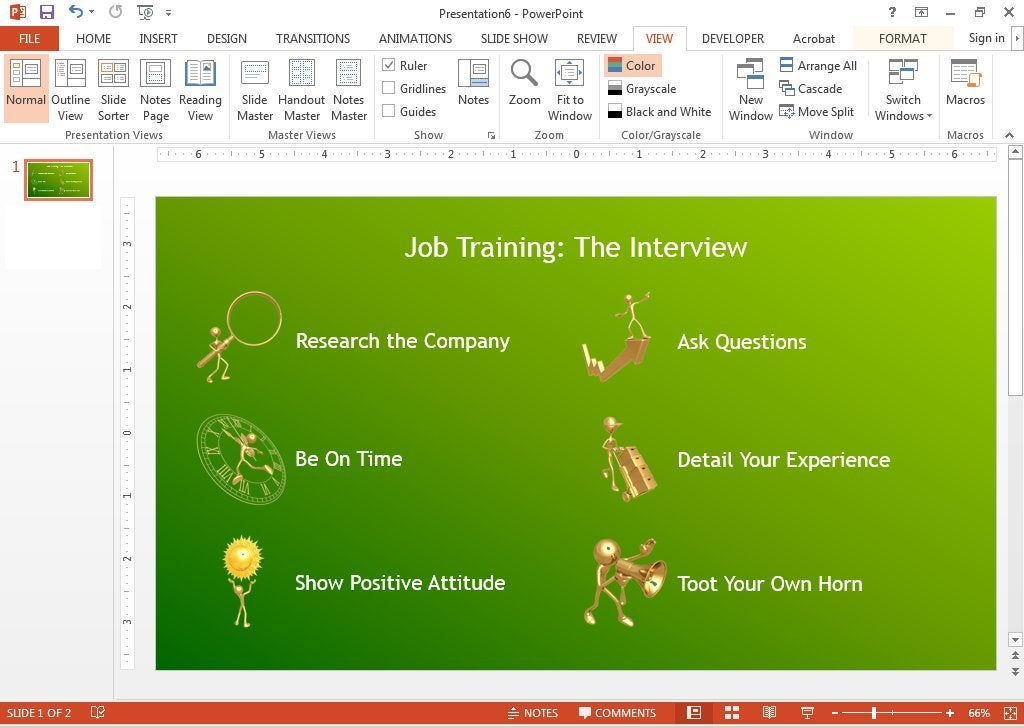 PowerPoint animation tips Don\u0027t be that person whose slides are