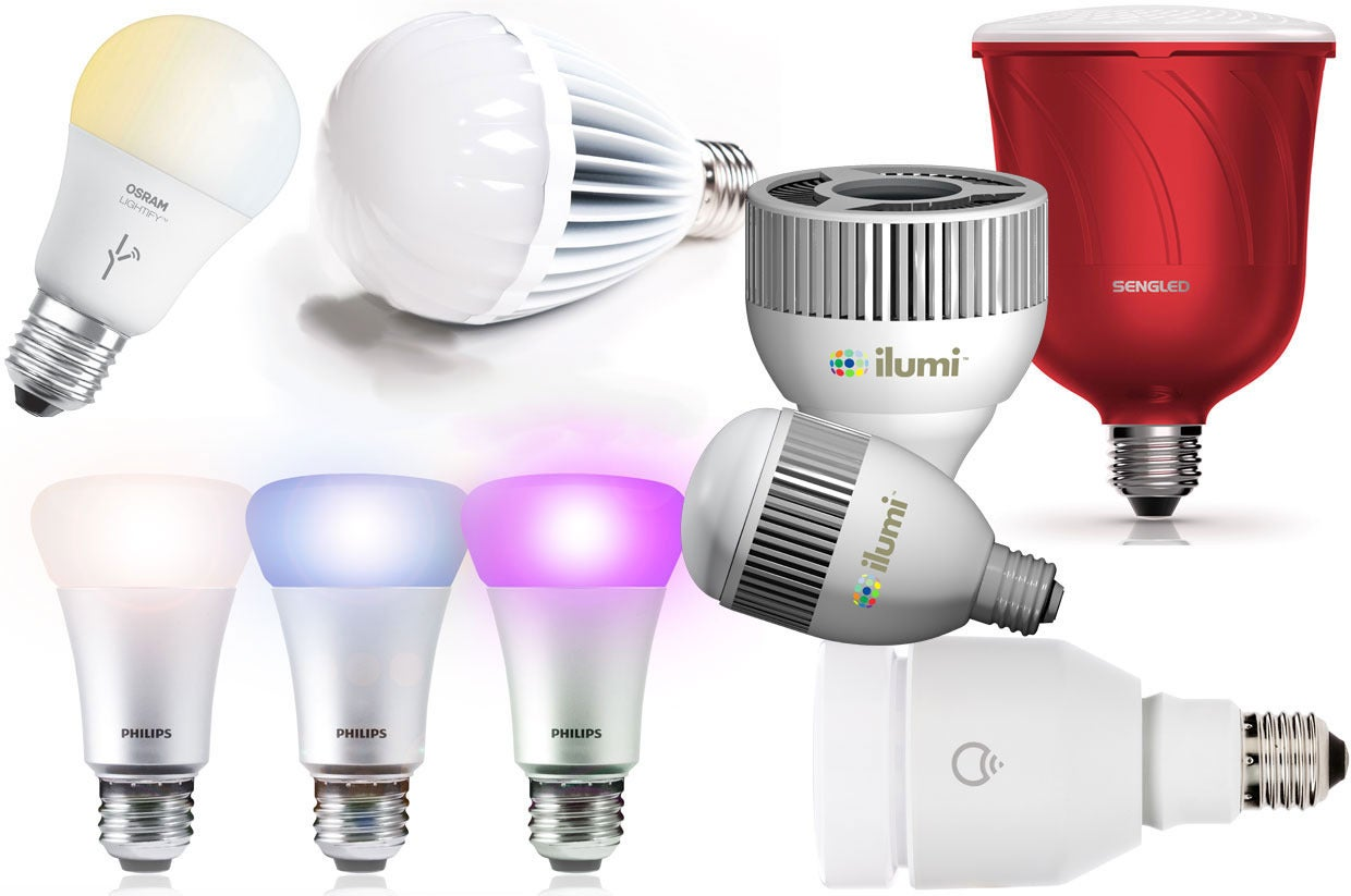 Smart Led Bulb 6 Smart Led Bulbs Put To The Test We Name The Best And Brightest