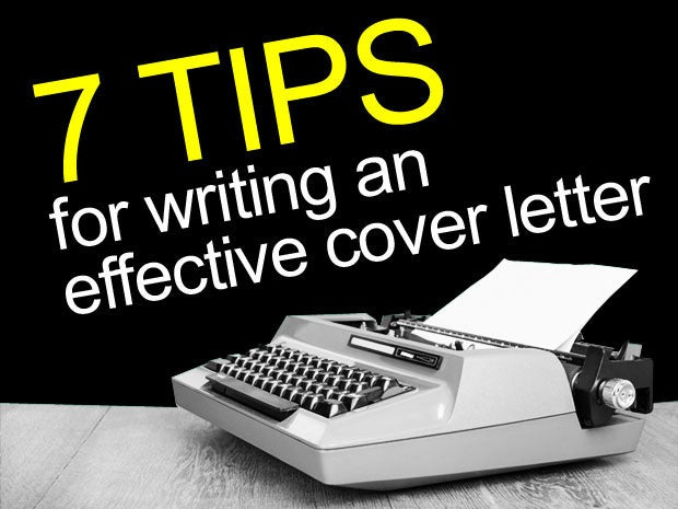 7 tips for writing an effective cover letter CIO