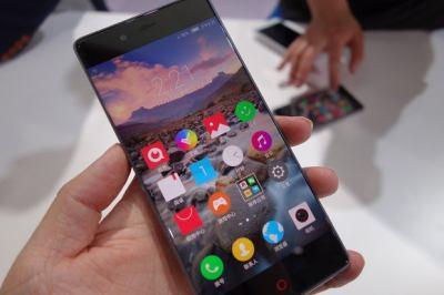 ZTE's bezel-less phone tosses away black border for more touchscreen function | Computerworld