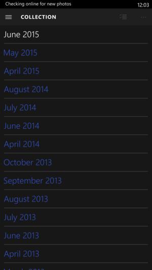 Windows Mobile 10 Build 10136 Photos