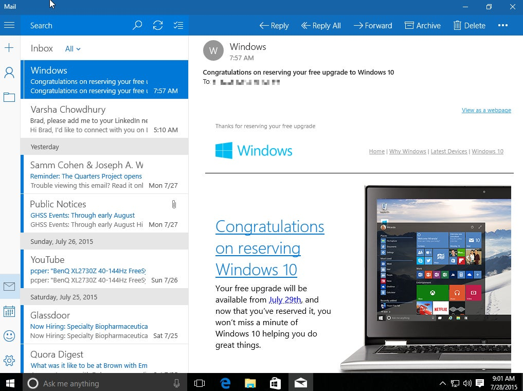 Windows 10 The 10 best new features to try first PCWorld