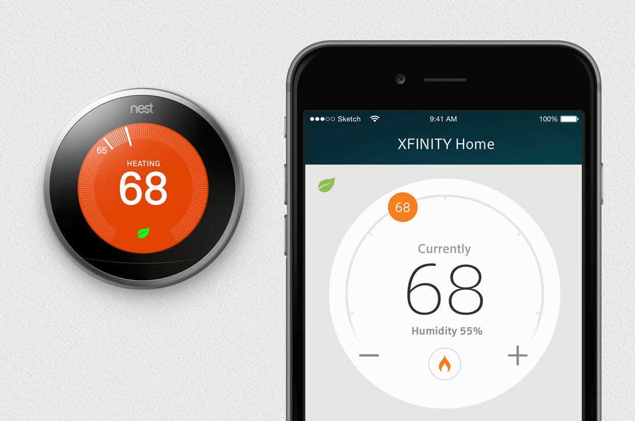 Xfinity Comcast Xfinity Home Users Can Add Nest Thermostat August Smart