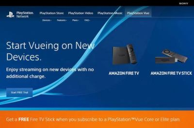 Sony's PlayStation Vue finds a home on Amazon Fire TV   TechHive