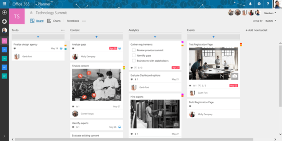 Microsoft takes a swing at Trello and Asana with new Planner app - microsoft weekly planner