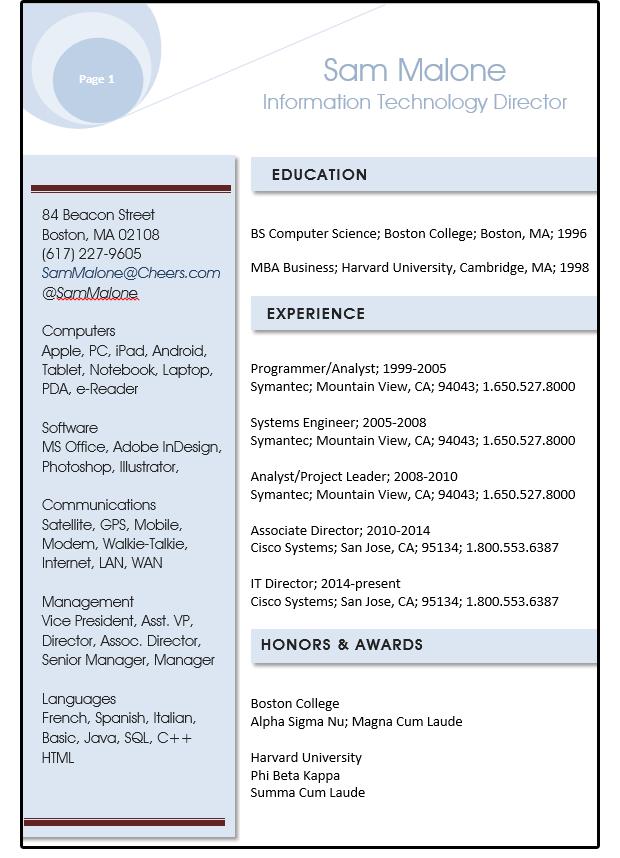 how do you create a resume