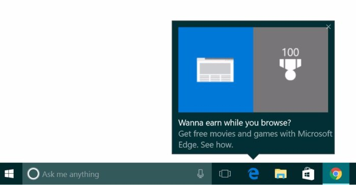 Here we go again Microsoft\u0027s popping up ads from the Windows 10