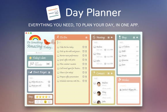 The Week in Mac Apps Day Planner is more than your average calendar - day planner