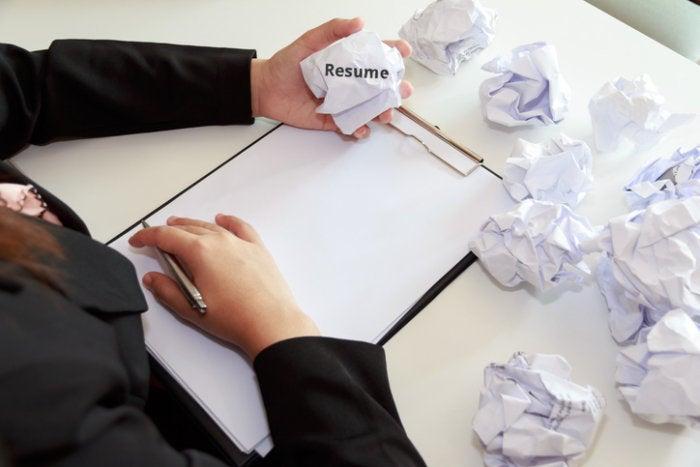 How to fix 3 common resume mistakes CIO - common resume mistakes