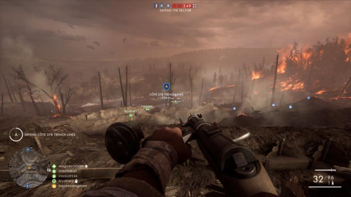 Chaos Wallpaper Hd Battlefield 1 They Shall Not Pass S Brutal Frontlines