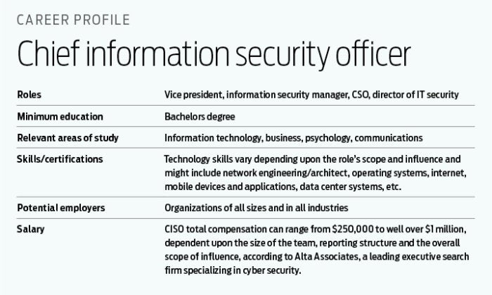 How to become a CISO CSO Online