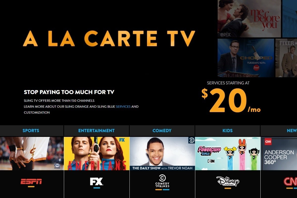 Arte Tv Newsletter Sling Tv Misleads Cord Cutters With Its