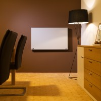 Infrared heater panel 270 W wall mounted electric radiant ...