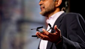 Robots that fly … and cooperate: Vijay Kumar on TED.com
