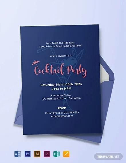 FREE Cocktail Party Invitation Template Download 637+ Invitations
