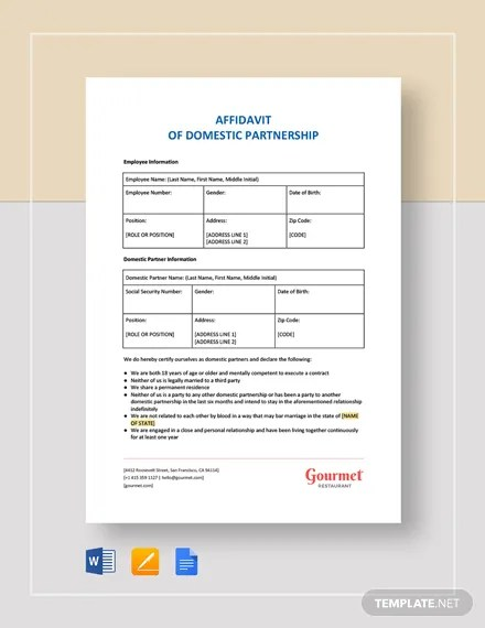 FREE Affidavit of Support Letter Template Download 2191+ Letters in