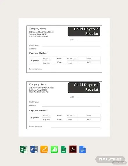 83+ FREE Receipt Templates Download Ready-Made Templatenet