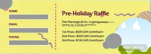 14+ FREE Raffle Ticket Templates Download Ready-Made Templatenet