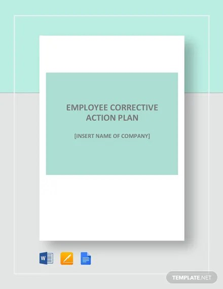 Employee Corrective Action Plan Template Download 211+ Plans in