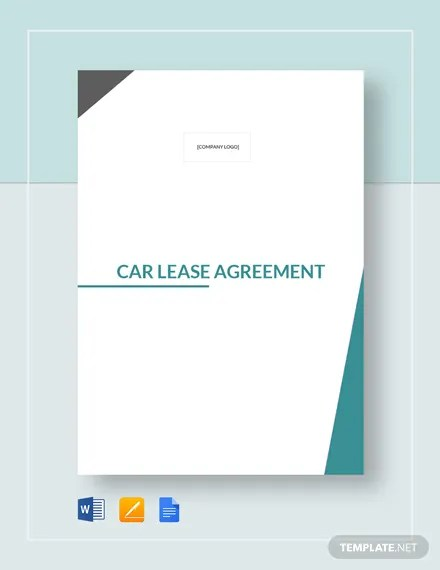 Car Lease Agreement Template Download 228+ Agreements in Microsoft