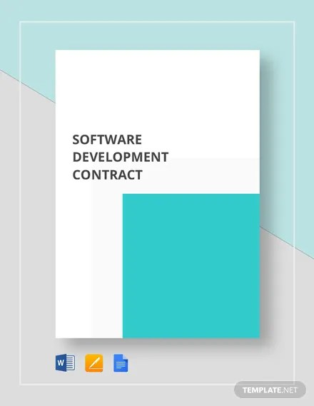 Software Development Contract Template  Download 226+ Contracts in