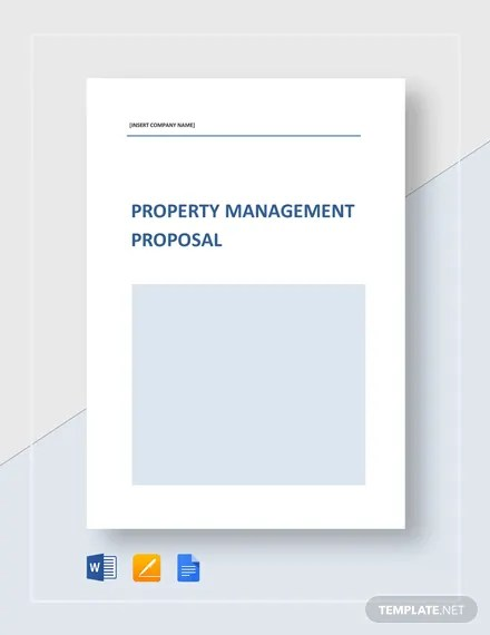 Property Management Proposal Template Download 203+ Proposals in