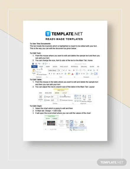Corporate Report Template Download 246+ Reports in Microsoft Word