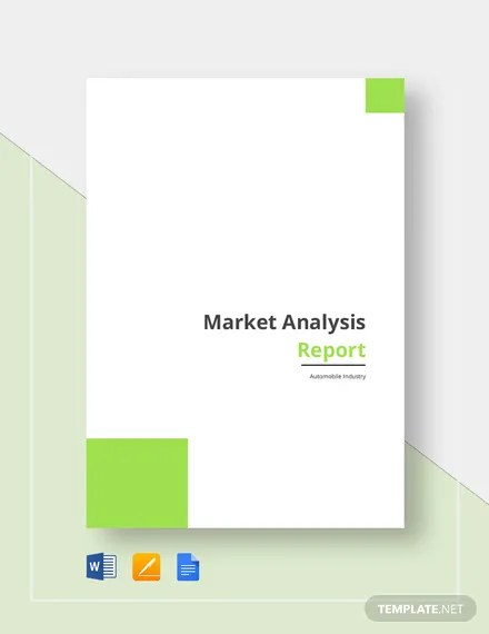 Market Analysis Report Template  Download 161+ Reports in Microsoft