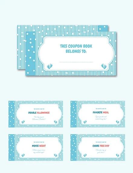 kids coupon book template - Nisatasj-plus