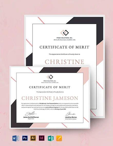 editable certificate of appreciation template