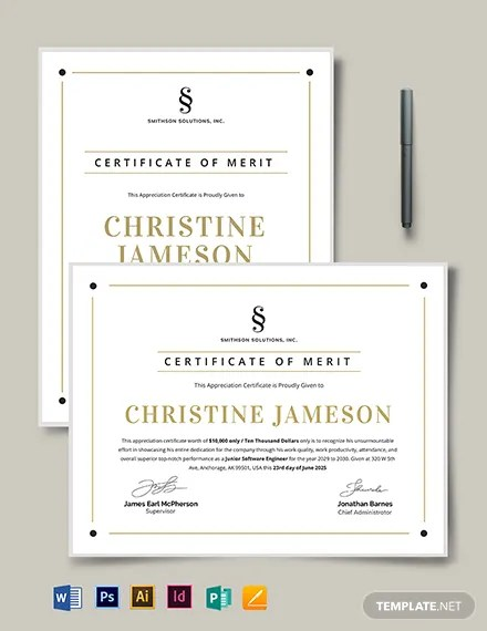 FREE Employee Appreciation Certificate Template Download 435+