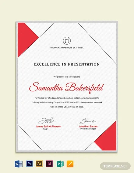 Excellence Award Certificate Template Download 205+ Certificates in