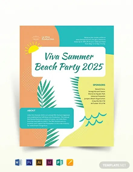 Party Event Flyer Template  Download 318+ Flyers in Microsoft Word