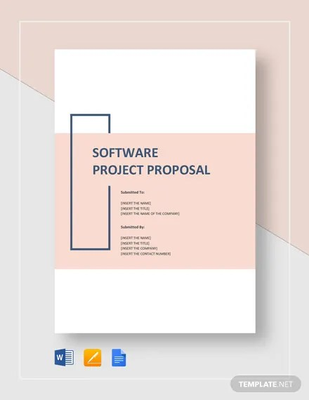 Software Project Proposal Template Download 201+ Proposals in