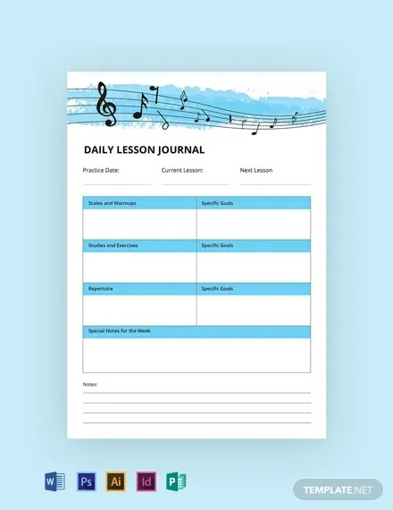 14+ FREE Notebook  Journal Templates Download Ready-Made Samples