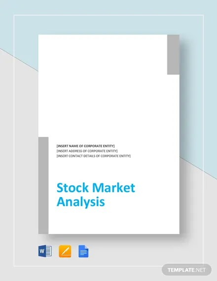 Stock Market Analysis Template Download 190+ Analysis Templates in