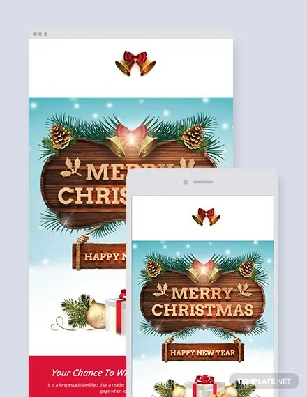 21+ FREE Christmas Email Newsletter Templates Download Ready-Made
