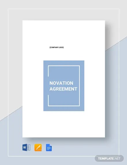 Novation Agreement Template Download 234+ Agreements in Microsoft