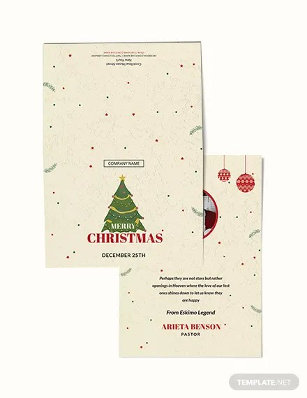 FREE Christmas Bonus Thank You Card Template Download 1251+ Cards