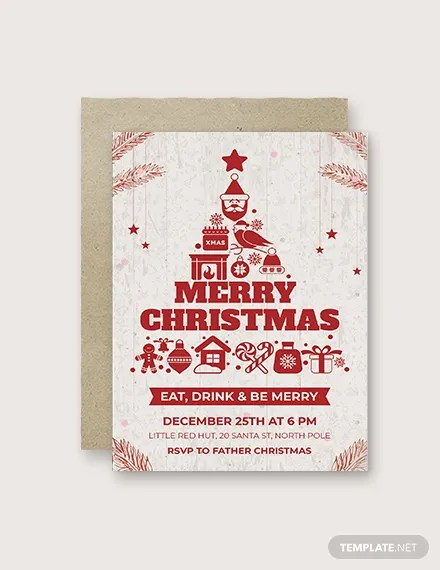 30+ FREE Christmas Invitation Templates Download Ready-Made