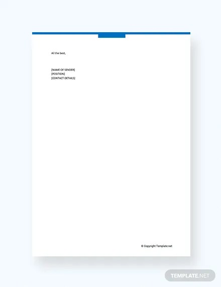 FREE Wedding Catering Proposal Letter Template Download 1994+