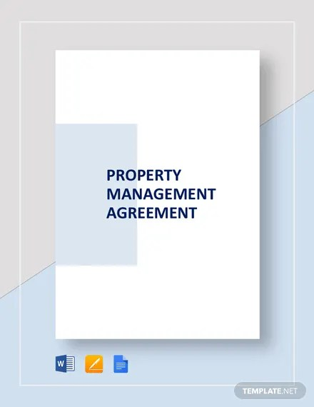 Property Management Agreement Template Download 207+ Agreements in