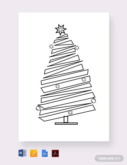 FREE Blank Christmas Tree Template Download 293+ Cards in Microsoft