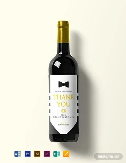 20+ FREE Wine Label Templates Download Ready-Made Templatenet