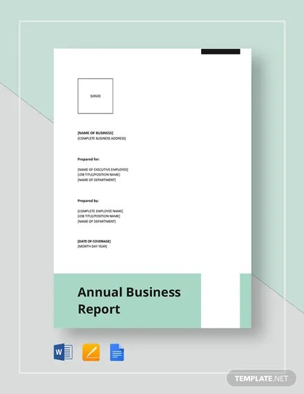10+ Annual Report Templates - Word, Apple Pages Free  Premium