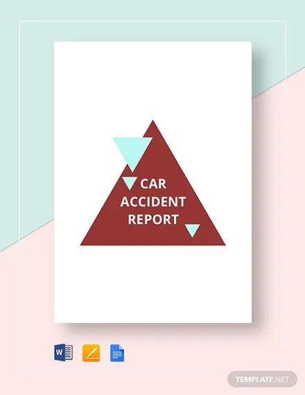 15+ Accident Report Templates - Docs, Pages, PDF, Word Free