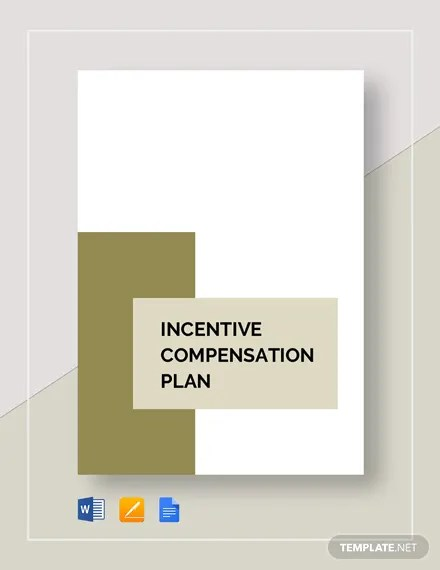 Incentive Compensation Plan Template Download 265+ Plans in