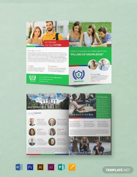 24+ FREE Educational Brochure Templates Download Ready-Made