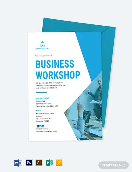 Business Invitation Card Template Download 227+ Invitations in