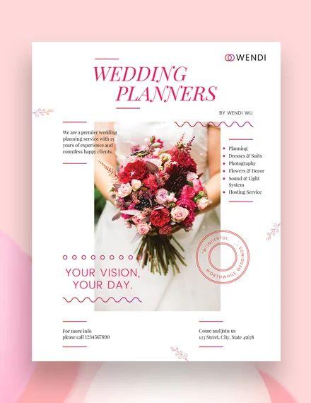 wedding planning templates free